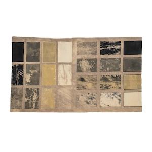ブロックプリント 向井詩織 No.1 インドの伝統工芸品 54×95cm