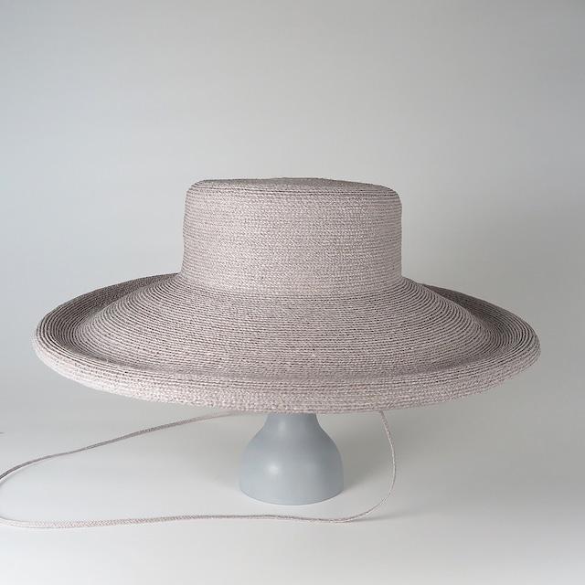 SS20-BD-8 Raffia Braid Roll-Up Brim Hat LGY