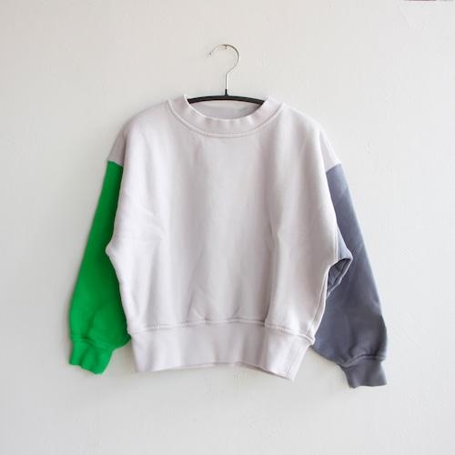 《main story 2021AW》Oversized Sweatshirt / Colourblock