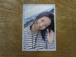 上戸彩 トレカ PROMOTION VISUAL PHOTOCARD COLLECTION
