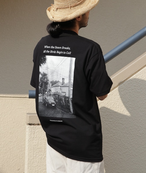 Tシャツ ヘビーウェイト 七咲友梨写真集『朝になれば鳥たちが騒ぎだすだろう』