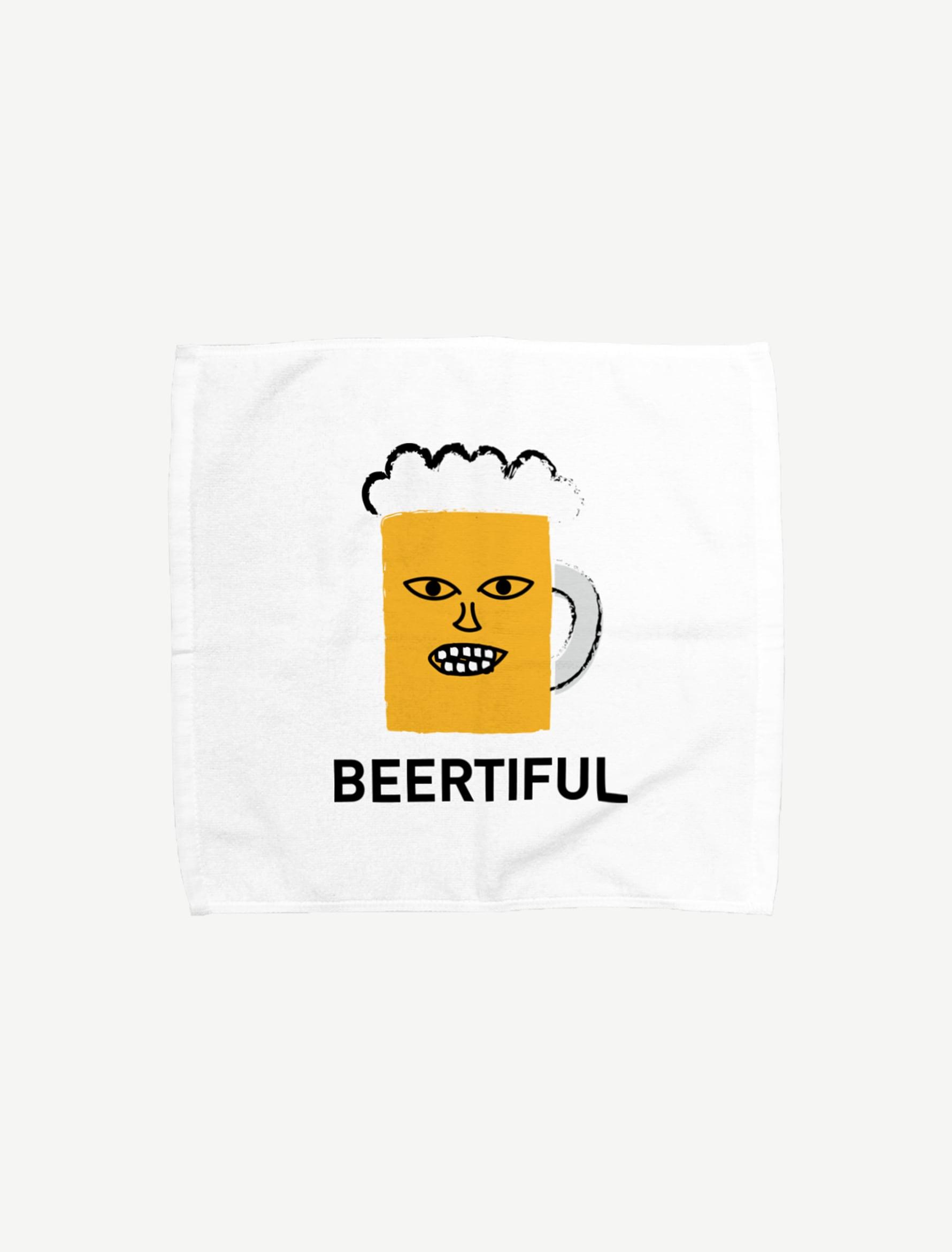 【BEERMAN】タオルハンカチ(Lサイズ)