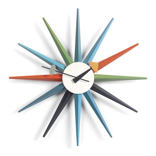 Vitra(ヴィトラ) Sunburst Clock(サンバーストクロック)マルチ