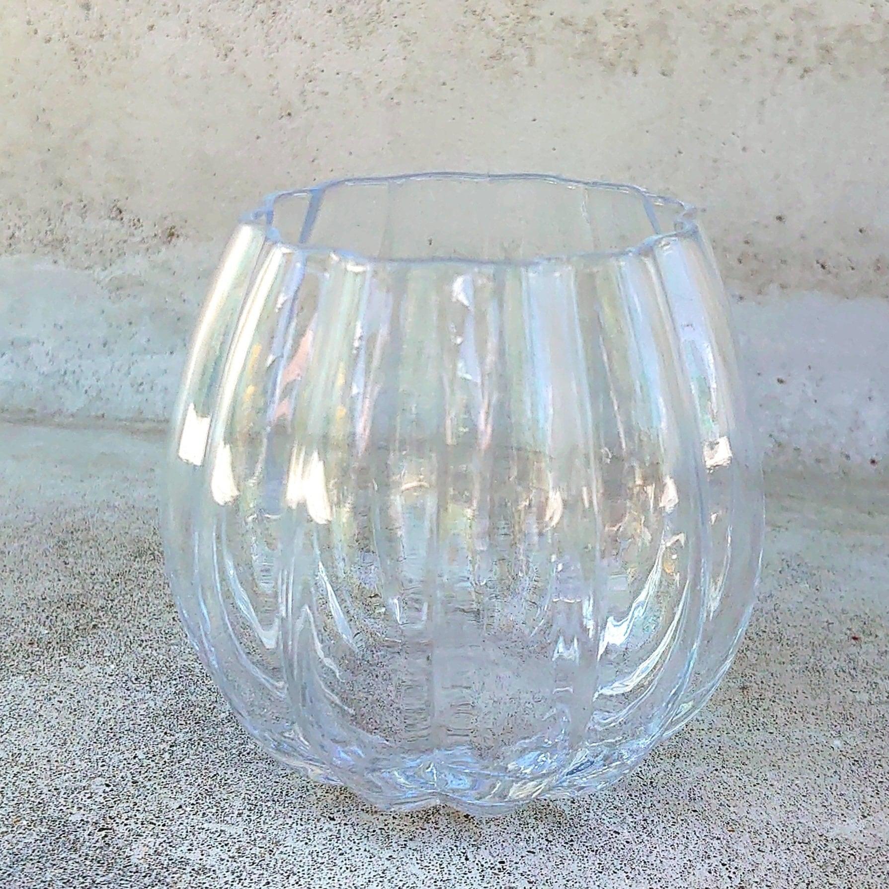 ★Sパンプキンのようなエレガントな花瓶! パンプキンボールベースのご紹介。