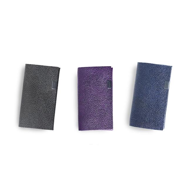 姫路黒桟革 カードケース
