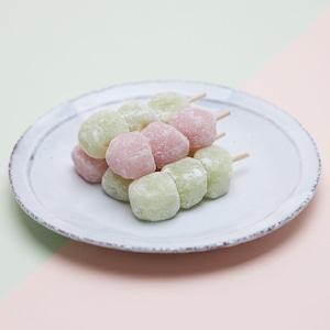 フルーツきびだんご18串入り(白桃・マスカット)