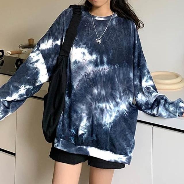 【トップス】欠かせない!ビッグサイズM-3XL ファッション ロンティー ゆったり プリント 長袖 パーカー53518767