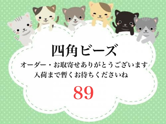 89☆V)Y様専用 □型ビーズ【A4サイズ】オーダーページ