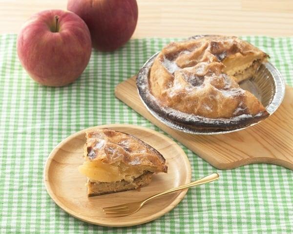 お菓子の秋月 雪下りんごぱい 2個セット