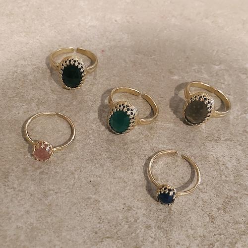 Gemstone ring / small