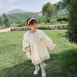 キッズ ワンピース 秋 ベビー 子供 子ども服 ジュニア ガールズ 長袖ワンピース 女の子ドレス 参考身長90-130cm 8301