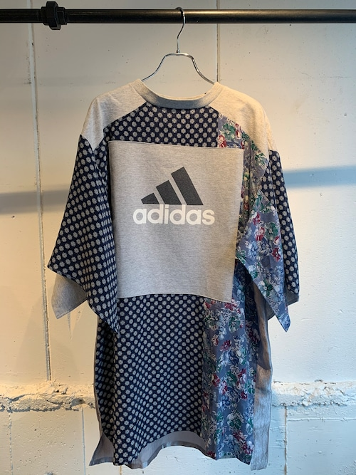 YEAH RIGHT!! FLORAL SWITCHING OP  (GREY)