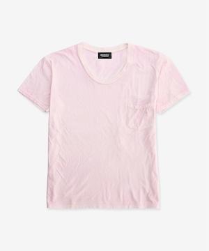 染色加工Tシャツ / サクラピンク