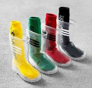 7861雨靴 キッズ  子供 子ども  ジュニア 長靴 男児 女児  レインブーツ 女の子 男の子 レインシューズ 滑り止め 透明15.5cm-24cm