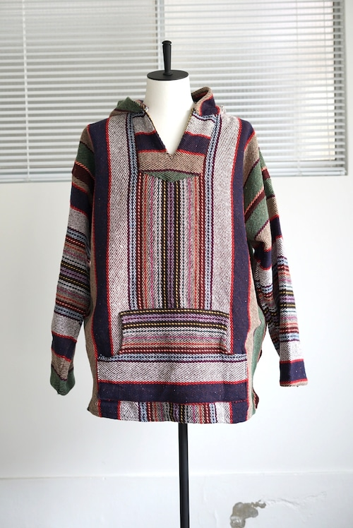 <SOLD OUT>Taco Joe's - Mexican Parka Mulch Stripes 1980's