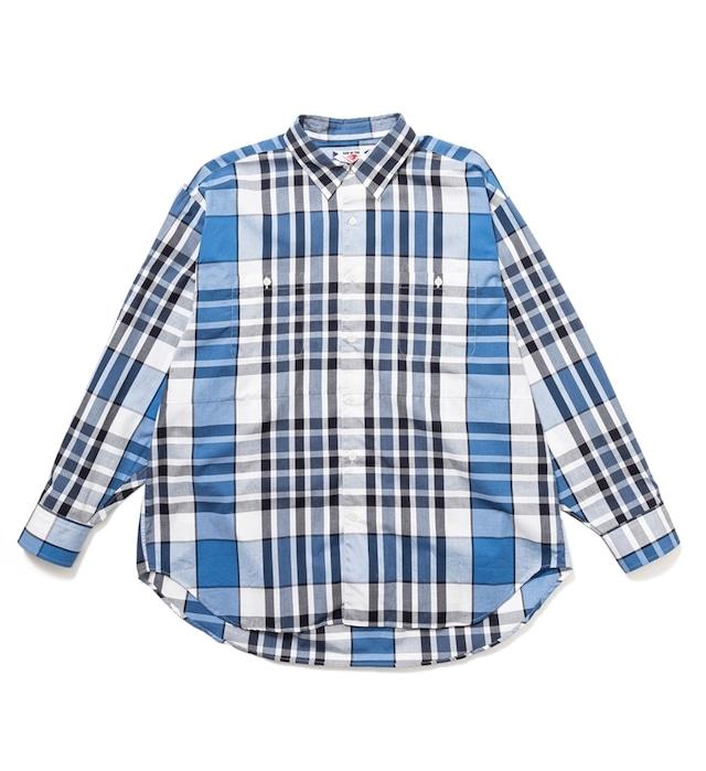 【SONOFTHECHEESE】-Big check shirt-