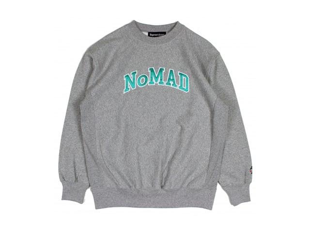 TOPROCDRESS|Nomad Museum-logo Sweatshirt (MIX GRAY)