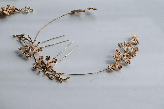 Bridal hairaccessory ・vintage・1011/sale