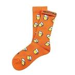 """Beer -orange-"" Socks (limited edition by EAZY MISS)"
