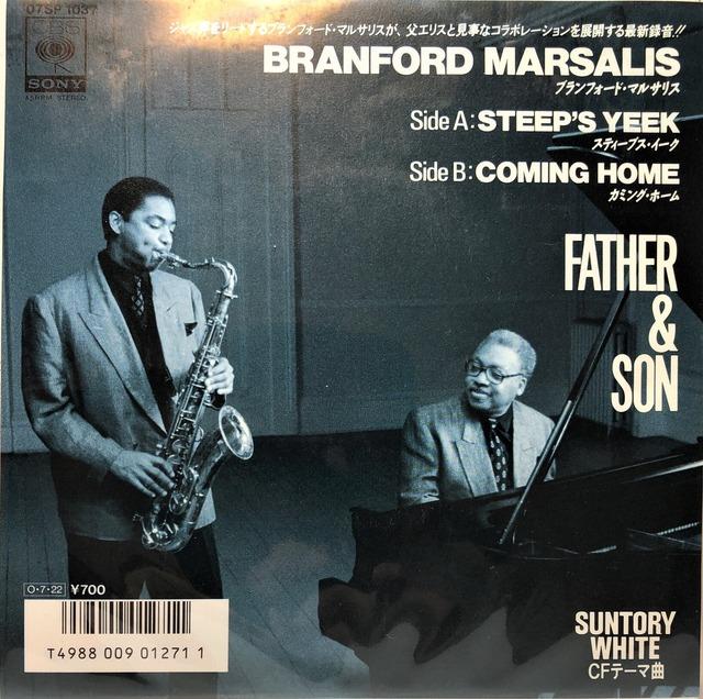[中古7inch]   Branford Marsalis – Father & Son