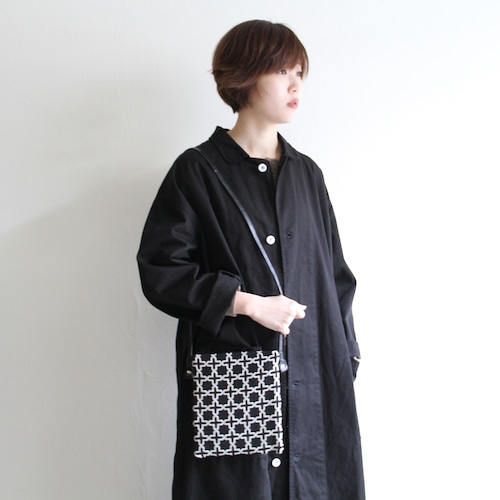 Dr.S【 womens 】side flat fabric bag