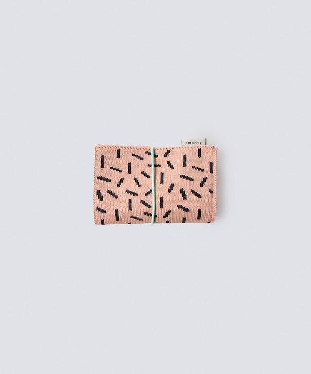 【TRICOTÉ】BUSINESS CARD HOLDER:セサミ柄