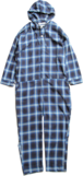 CC HOODED ALL IN ONE -BLUE-