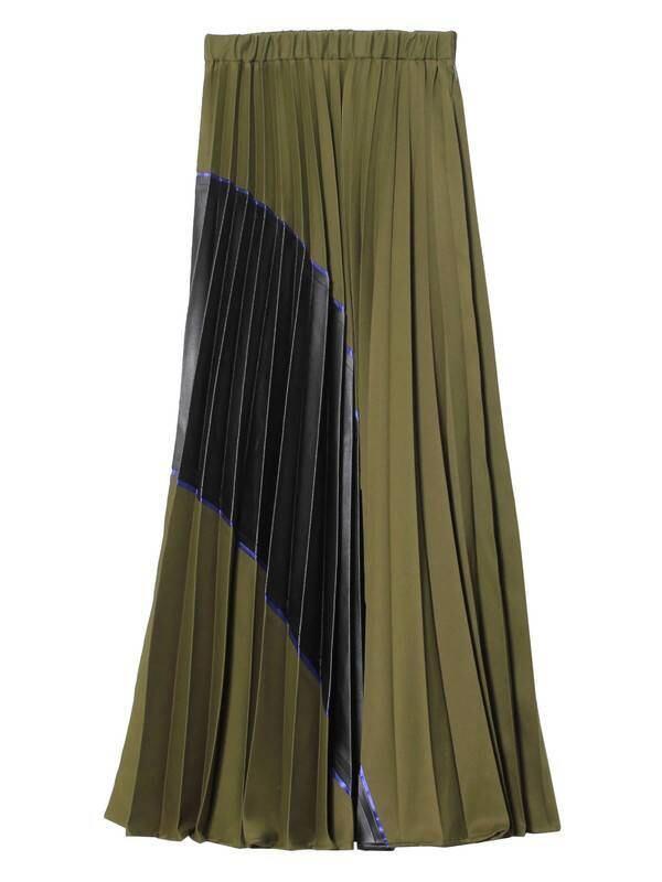 【UN3D.】カッティングプリーツスカート 5221508020