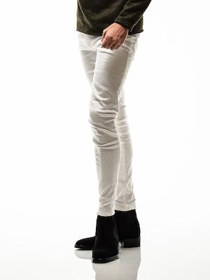 RESOUND CLOTHING (リサウンドクロージング) BLIND DENIM / WHITE BASIC-ST-007-3