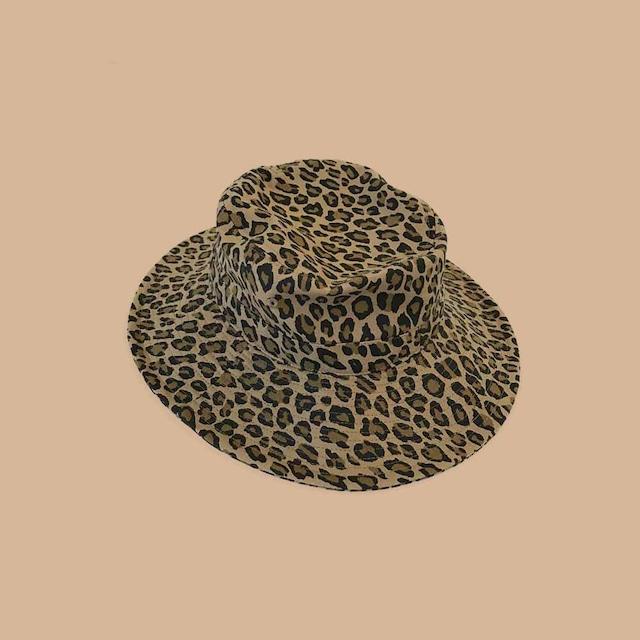 【MASTER & Co. 】LEOPARD SAFARI HAT