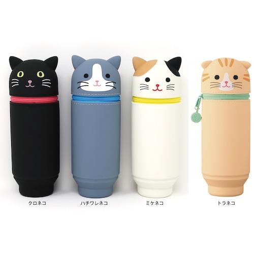 猫ペンケース(プニラボスタンドペンケース)BIGサイズ