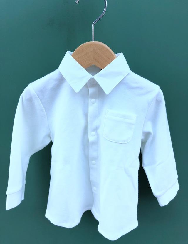 Creme Chantilly ( クリーム・シャンティー  )  - 襟付きスムースシャツ