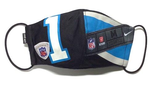 【デザイナーズマスク 吸水速乾COOLMAX使用 日本製】NFL NIKE SPORTS MIX MASK CTMR 1215012