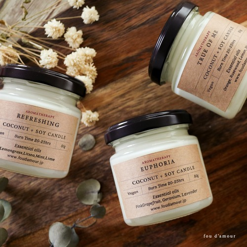 【3種類の香り】Aromatherapy