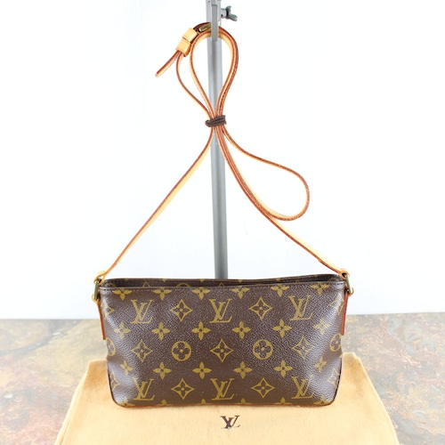.LOUIS VUITTON M51240 SD0062 MONOGRAM PATTERNED SHOULDER BAG MADE IN FRANCE/ルイヴィトントロターモノグラム柄ショルダーバッグ2000000051451