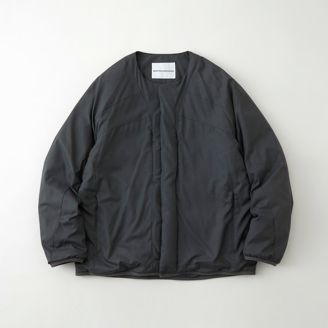 WM × TAION TWILLED INNER DOWN JACKET - CHARCOAL