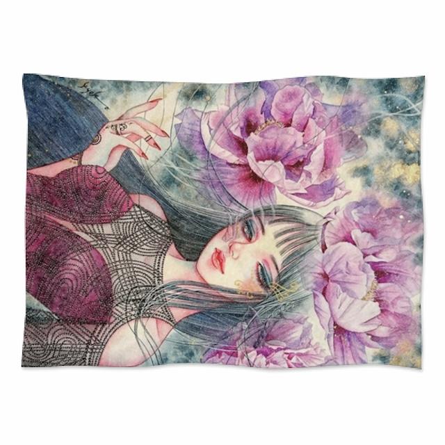 紫牡丹の姫君‐ソフトブランケット