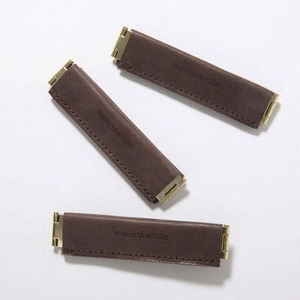meanswhile   Wax Leather Utility Clip