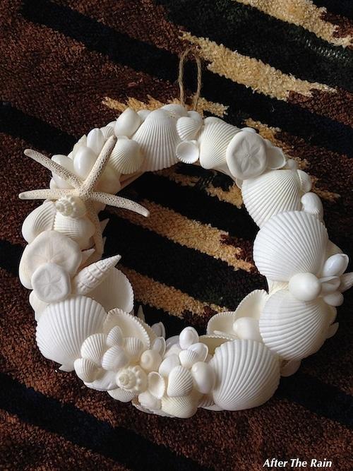 Z001 Shell Wreath Msize