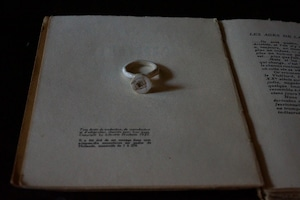 "po.ring  ""ROSE""  size/ 10.5"