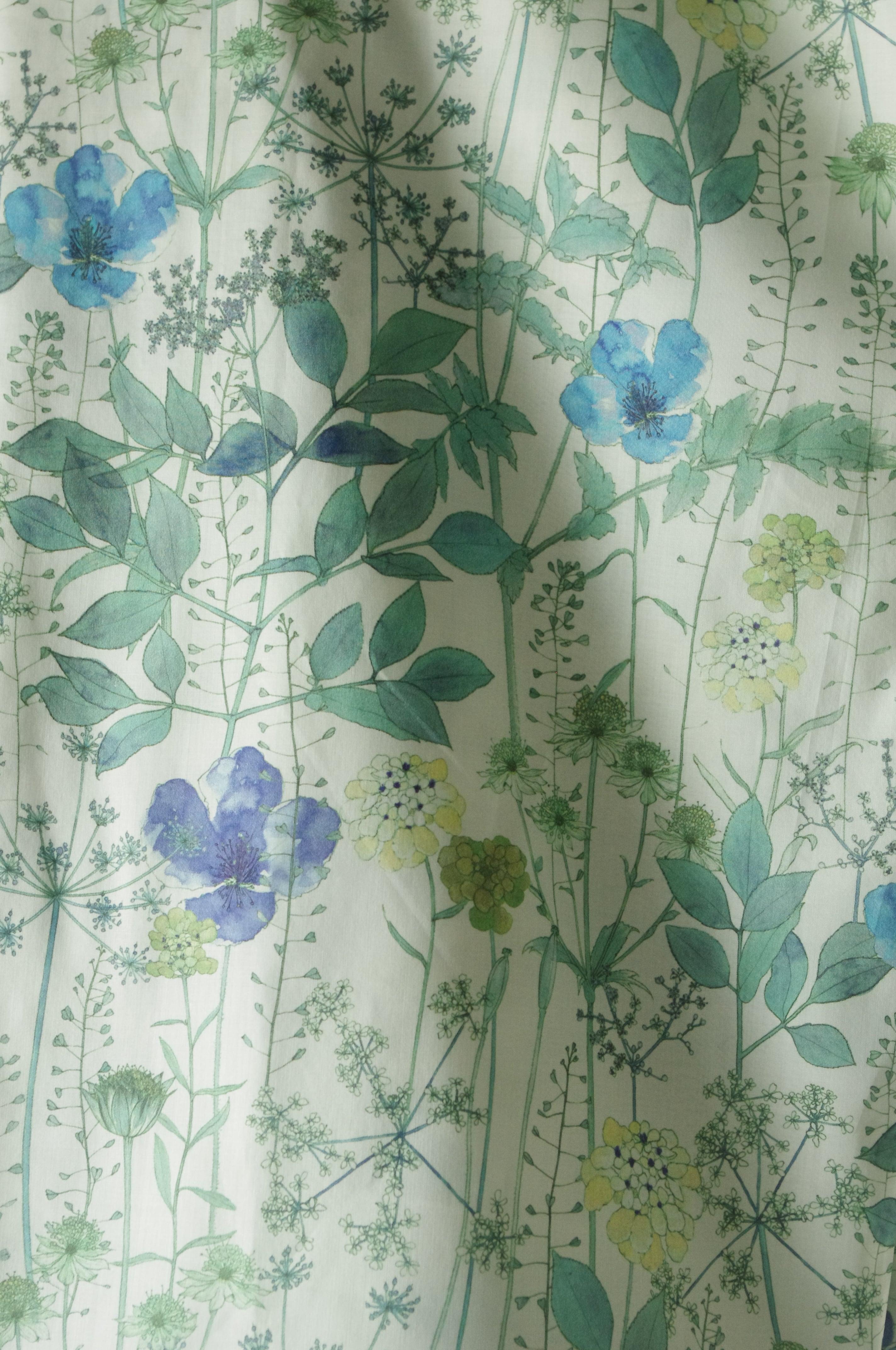 (予約販売)リバティプリントシャツ - LIB-010