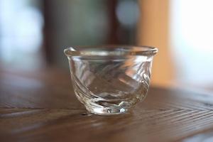 【倉敷ガラス・小谷栄次】◆◆◆ぐい呑み◆◆◆透明◆◆