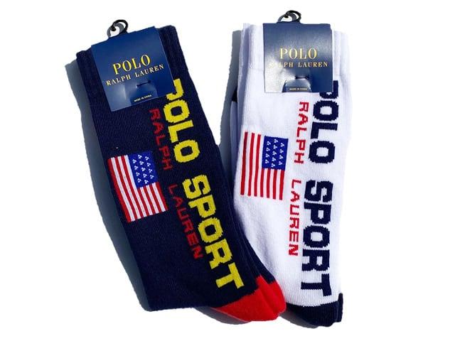 POLO by Ralph Lauren Classic Polo Sports Crew Socks