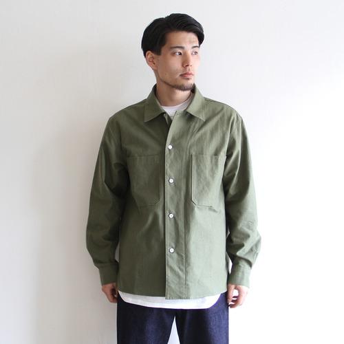 LAMOND【 mens 】organic cotton nep back twill jacket