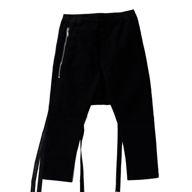 UNRAVEL Black Trousers