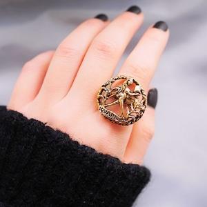 12星座 水瓶座 アクエリアス ヴィンテージリング(指輪)