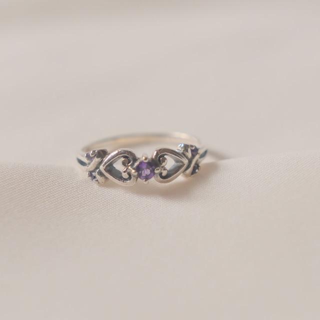 flemington silver  heart collection 2 8