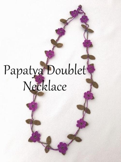 トゥーオヤのネックレス パパティアダブルA(カラーは商品内ページよりお選びください。)