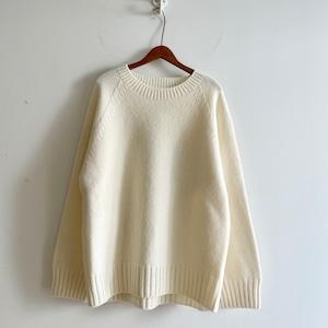 C-11576 Raglan Sleeve Crew Neck Sweater