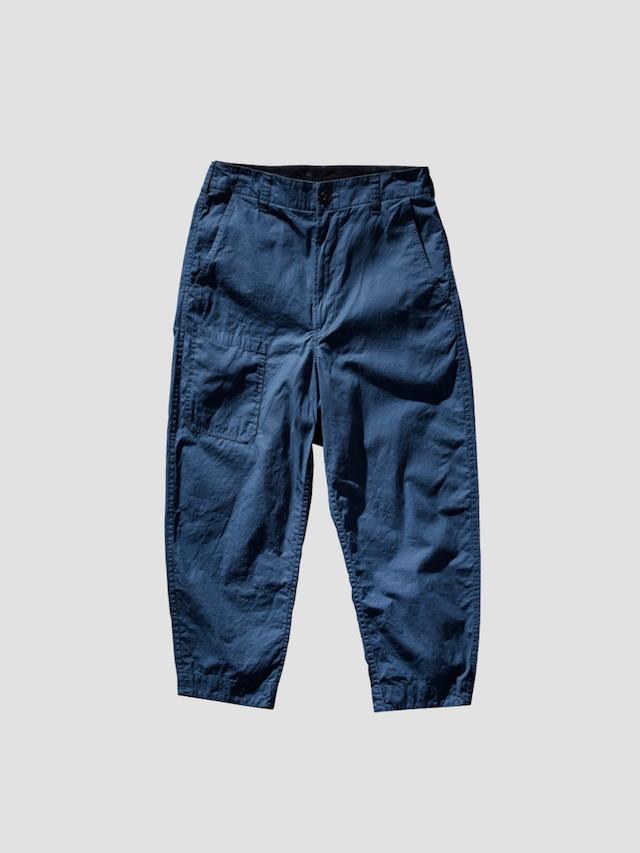 PORTER CLASSIC PARAFFIN CORDUROY PANTS VINTAGE BLUE PC-057-1723